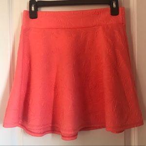 Bright Pink Rose Skirt